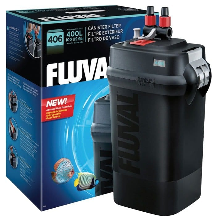 To choose the right canister filter, read the review of fluval 406