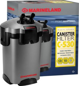 Marineland Multi-Stage Canister Filter for Aquariums