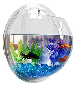 Fish Bubble - Deluxe Acrylic Wall Mounted Fish Tank