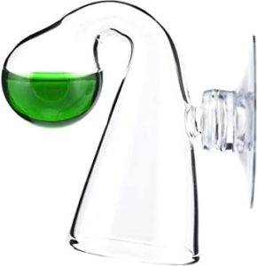 Glass CO2 Drop Checker with pH solution