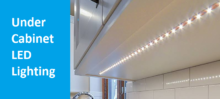 LED lighting for cabinet