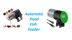 auto fish feeder for pond