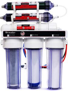 Liqua Gen Portable 6 Stage Dual-use RO DI System for Reef Tank