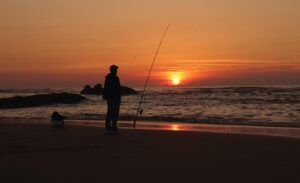 Amateur in fishing