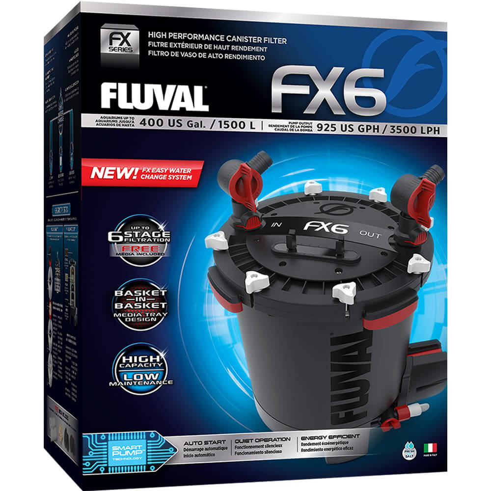 Fluvial FX6 Canister Filter